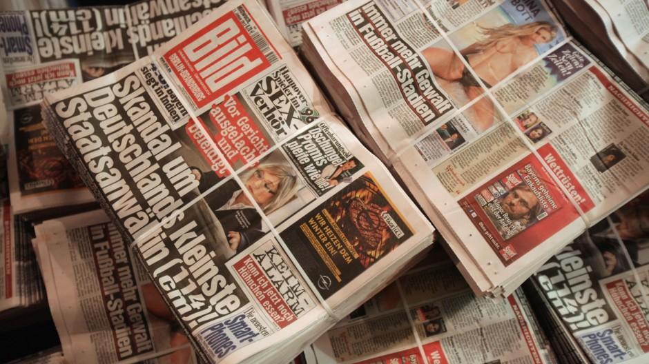 Bild Zeitung Is Germany's Most Influential Tabloid