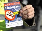 Nichtraucherschutzgesetz Volksbegehren, dpa