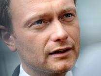 Spitzenkandidat der FDP Christian Lindner