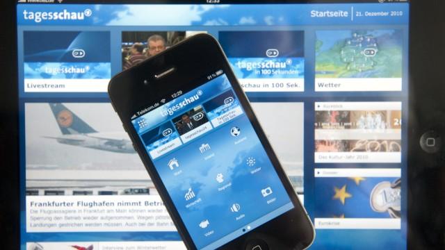 Rechtsstreit um 'Tagesschau'-App verzoegert sich