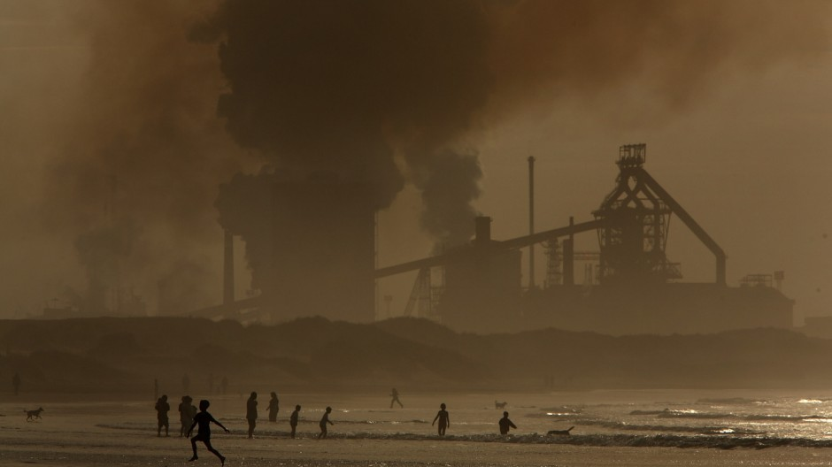 Steel Production In North East England