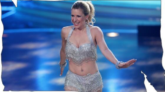 "Stefanie Hertel bei ""Let's dance""/RTL"