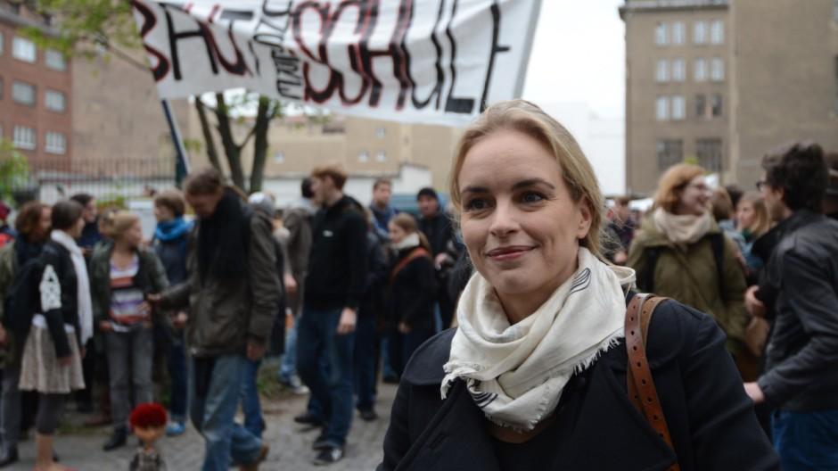 Demonstration für Schauspielschule Ernst Busch