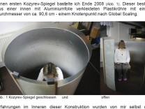 Kozyrev-Spiegel an der Uni Viadrina in Frankfurt an der Oder