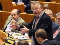 Europa Parlament Brüssel Daniel Cohn-Bendit
