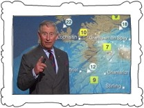 Prinz Charles moderiert BBC-Wetter