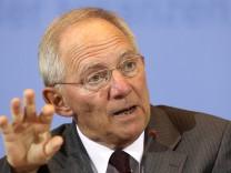 Schäuble zur Steuerschätzung