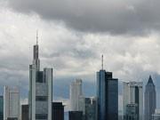 Banken, Führungstreffen, Skyline, dpa