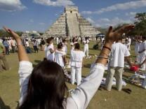 Maya-Nachfahren begrüßen das neue Jahr