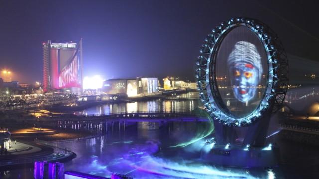 Expo Kleine Expo in Südkorea