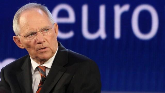 Schaeuble: Euro-Zone könnte Griechenland-Aus notfalls verkraften