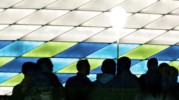 Allianz Arena Illuminated for UEFA Champions League Final