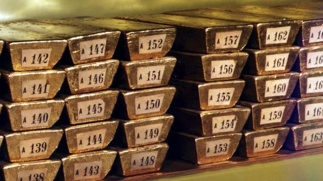 Goldreserven der Deutschen Bundesbank