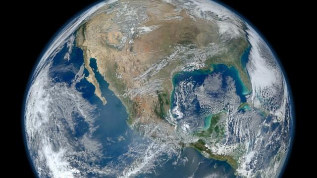 Erde aus dem Weltall