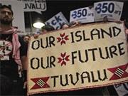 Klimagipfel Kopenhagen, Tuvalu, ap