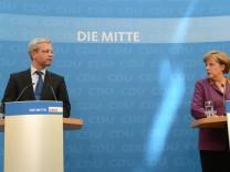 CDU Bundesvorstand nach der NRW-Wahl