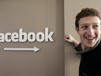 Facebook vor dem Boersengang