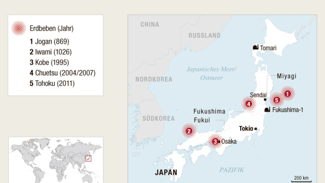 Erdbeben Erdbeben und Tsunamis