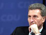 Günther Oettinger, ddp