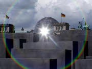 Reichstag; Holocaust-Mahnmal; Reuters
