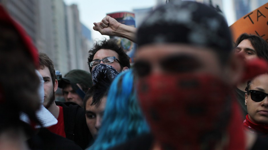 Protests Continue In Chicago On Eve Of NATO Summit