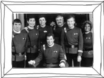 "Cast der Kultserie ""Star Trek"""