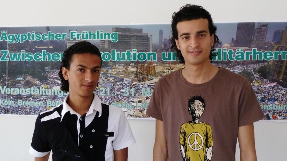 Ägypten nach Mubarak Ägyptischer Aktivist in Deutschland
