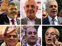 Some of the main Egyptian presidential candidates