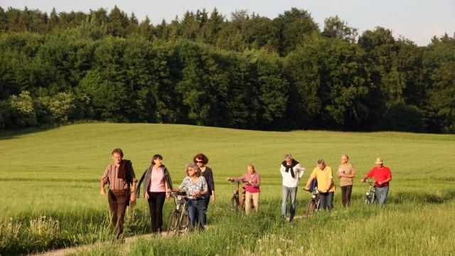 Weßlinger Naturschützer unterwegs