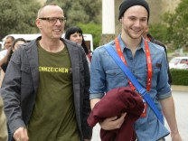 Roman Lob und Thomas D. beim Eurovision Song Contest 2012