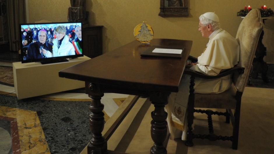 Vatikan Papst Benedikt XVI.