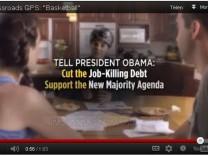 Anti-Obama-Werbung im US-Wahlkampf