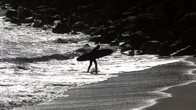 Surfen Surfrider Beach in Malibu