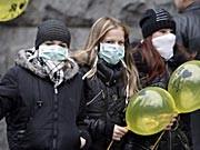 Schweinegrippe in der Ukraine, dpa