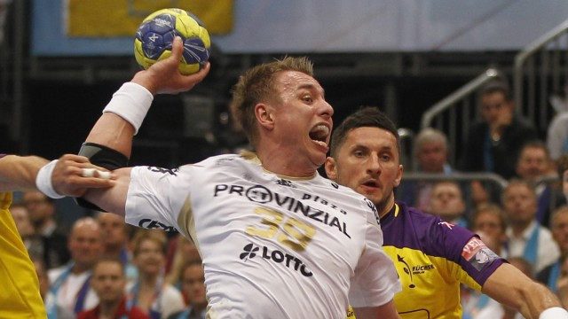 Champions League Final4: Fuechse Berlin - THW Kiel