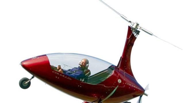 Schiene-Wasser-Luft Gyrokopter