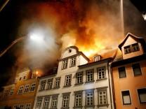 Großbrand in Coburger Altstadt