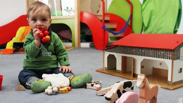 Kita-Ausbau Kinderbetreuung in Bayern