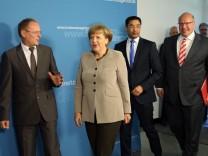 Angela Merkel bei Bundesnetzagentur