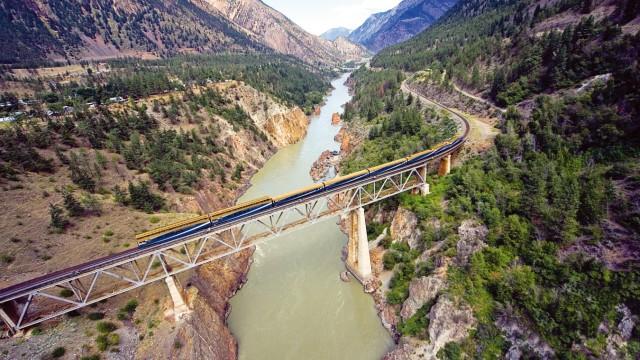 Rocky Mountaineer Kanada Zug