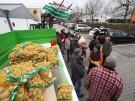 Protestaktion der Biobauern