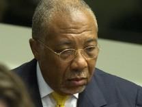 Liberian ex-president Charles Taylor on trail