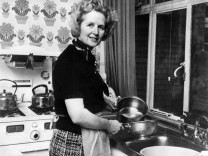 BRITAIN-THATCHER-KITCHEN
