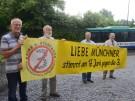 Protest der Startbahngegner