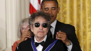 Barack Obama, Bob Dylan