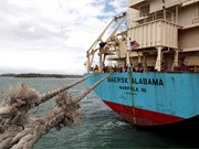 Maersk Alabama vor Kenia, dpa