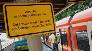 Bahnsteig FFB