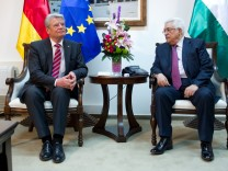 Bundespraesident Gauck besucht Israel und die Palaestinenischen Gebiete