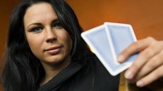 Sandra Naujoks ist Europas beste Pokerspielerin