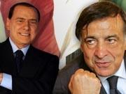 Leoluca Orlando Silvio Berlusconi Italien